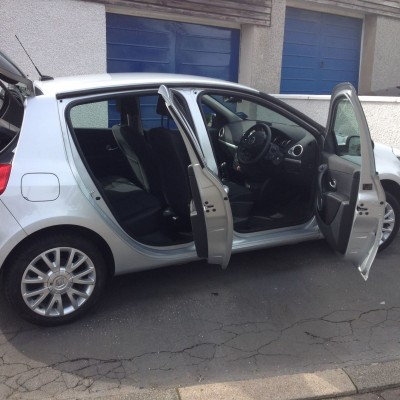 DRM Mobile Valeting Silver Open Doors